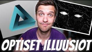 TÄMÄ VIDEO HUIJAA AIVOJASI #4 | optisia illuusioita