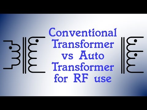 #85: Conventional Transformers Vs Auto Transformers For RF Use
