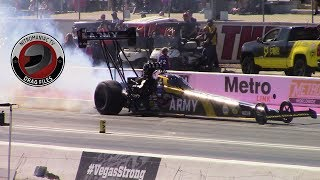 2017 NHRA Toyota Nationals @ LVMS (Part 32 - Top Fuel Dragster Round 2 Eliminations)