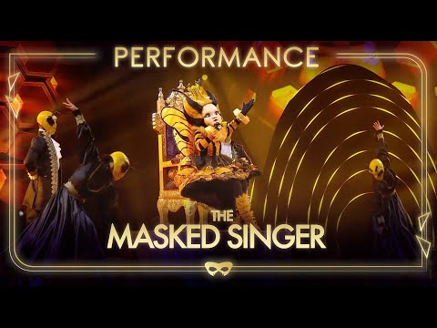 Queen Bee Performs 'Girl On Fire' By Alicia Keys | Season 1 Ep.5 | The Masked Singer UK