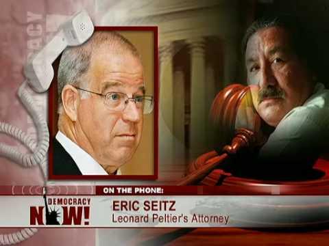 Imprisoned Native American Activist Leonard Peltier Again Denied Parole. Democracy Now 8/24/09