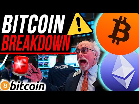 BITCOIN PRICE BREAKDOWN!! You NEED To See This Chart!! Watch These ETHEREUM Price Levels