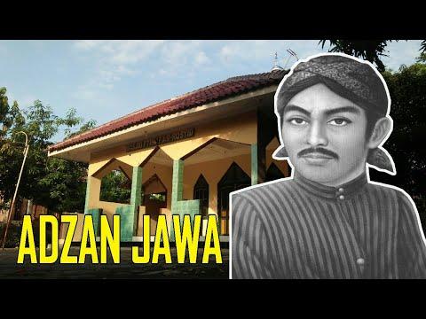 ADZAN LANGGAM JAWA KUNO - SUNAN KALIJAGA (cover)
