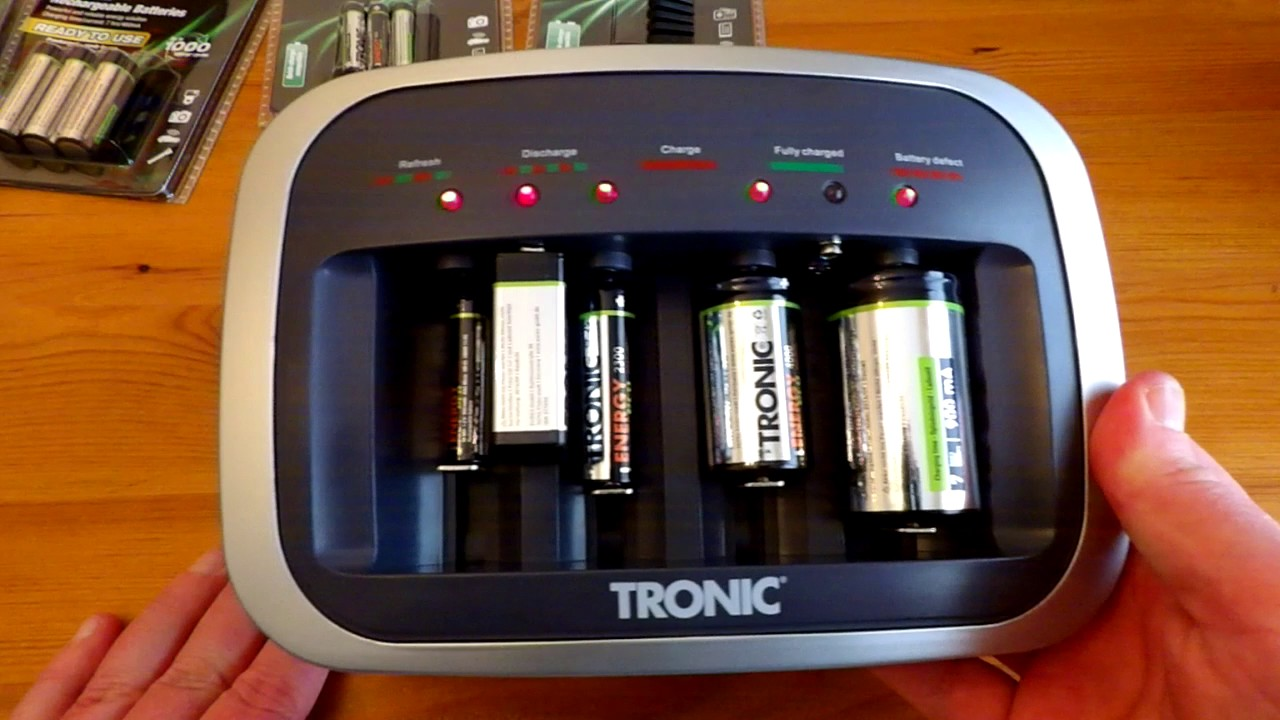 Tronic Battery Charger Tlg 500 B1 Youtube