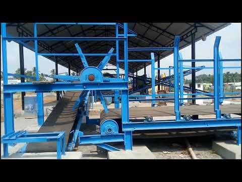 Coir Fibre Production Industry,Site Machine Installation