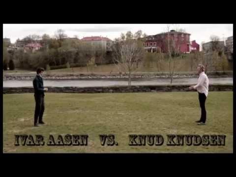 Ivar Aasen vs. Knud Knudsen