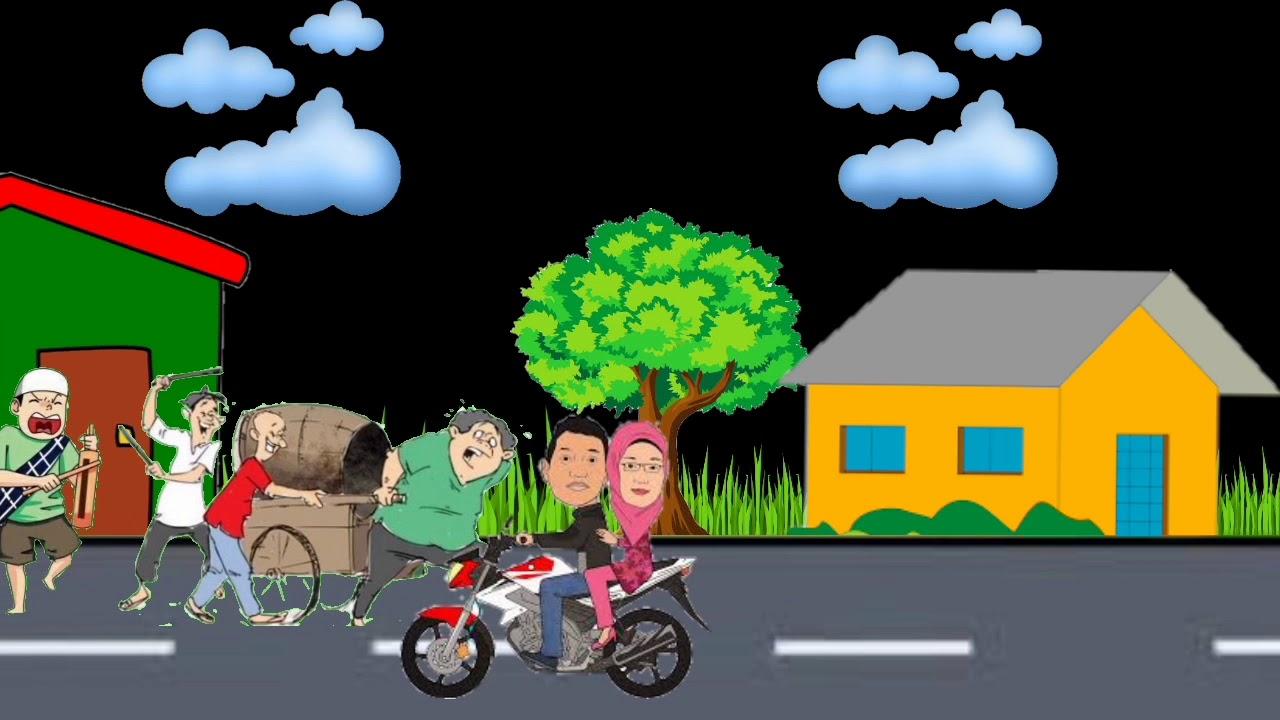 Animasi Bangunin Sahur Di Bulan Puasa Ramadhan 2