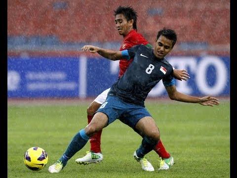 Indonesia vs Singapore: AFF Suzuki Cup 2012