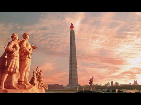 Juche Tower: Immortal Revolutionary Achievements of President Kim Il Sung