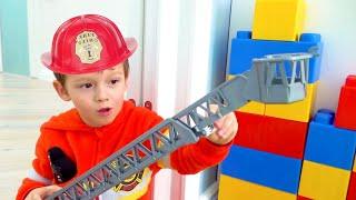 أبي ينقذ صوفيا وماكس من الحمم!! the floor is lava
