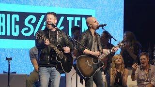 "David Cook & Chris Daughtry Live at Big Slick 2019 - ""Fix You"" (cover)"