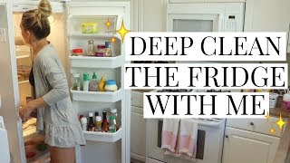 HOW TO DEEP CLEAN YOUR FRIDGE + Easy Crock Pot Recipe | Cleaning Motivation | Tara Henderson