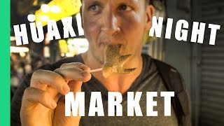 Best Taiwanese STREET FOOD in Huaxi Night Market!