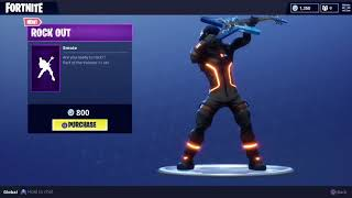 New Rock Out Emote Showcases+Giveaway Fortnite Battle Royale