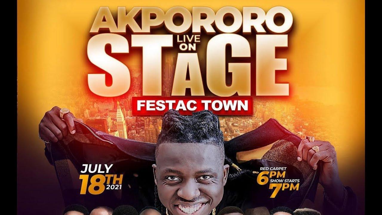 Download KENNY BLAQ & IYANYA ON AKPORORO LIVE ON STAGE