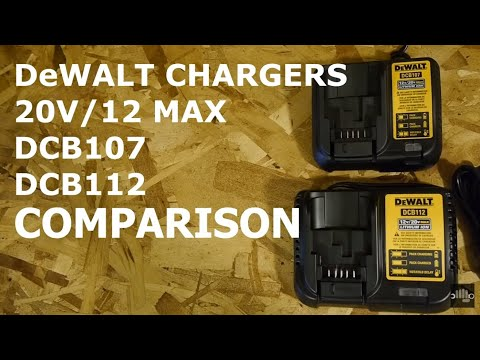 DEWALT DCB115 MAX Lithium Ion Battery Charger, 12V-20V