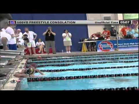 2012 MSHSAA Girls Swimming Finals