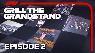 Grill the Grandstand | Formula 1 Quiz | Episode 2