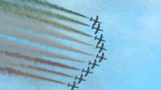 Italian Freece Tricolori Aerobatic Flying Team - Belgian Air Force Days 2014