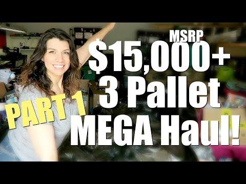 Huge $15,000+ Pallet Liquidation Unboxing!