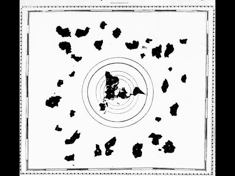 FLAT EARTH BRITISH ,Re Thinking The 1000 Year Old Buddhist Map