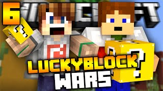 Minecraft Lucky Block Wars | Český Let's Play #6 w/ Kongi [Porty]