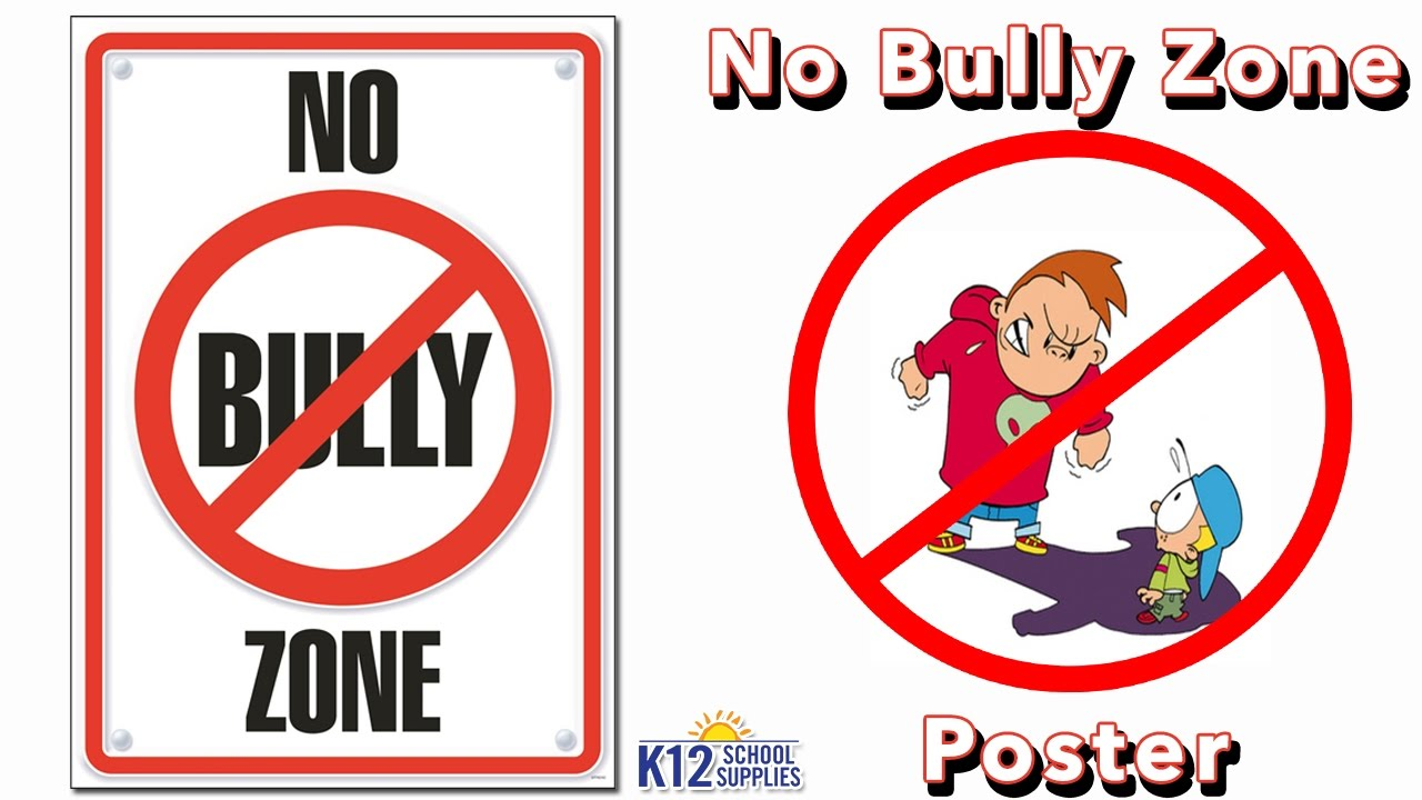 Populaire Anti Bullying Posters - Stop Bullying - Classroom Decor - YouTube MR45