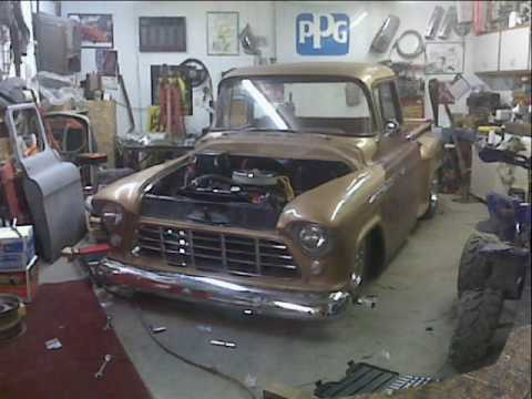 56 chevy truck frame