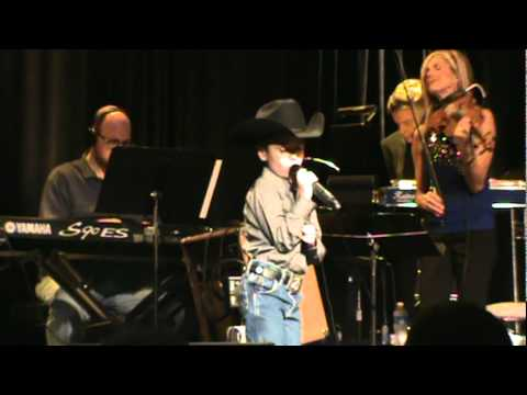 "Maddox Ross singing ""Good Ride Cowboy"" cover by Garth Brooks."