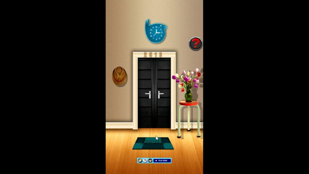 & 100 Doors Escape Teaser level 4 - YouTube pezcame.com