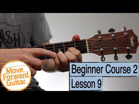 beginner guitar course 2 - em7 cadd9 dsus4 chords