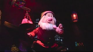 Seven Dwarfs Mine Train FULL POV with binaural audio and ending scene at Walt Disney World