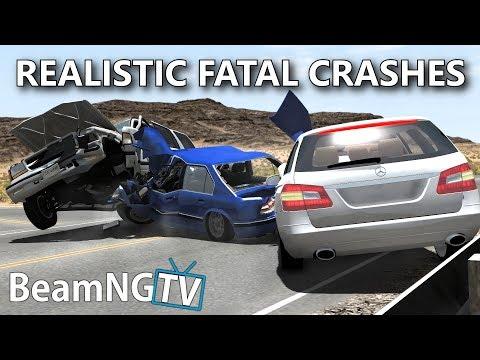 Realistic Fatal Crashes [6] - BeamNG.Drive •Notsofancygames