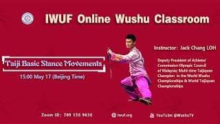 03. Taiji Basic  Stance Movements - Jack Chang LOH