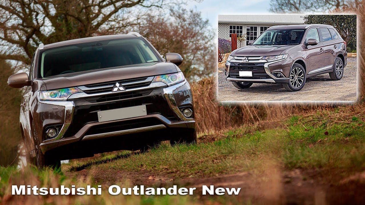 Interieur Mitsubishi Outlander Mitsubishi Outlander New Interior And Exterior New Outlander 2 0l Comfort