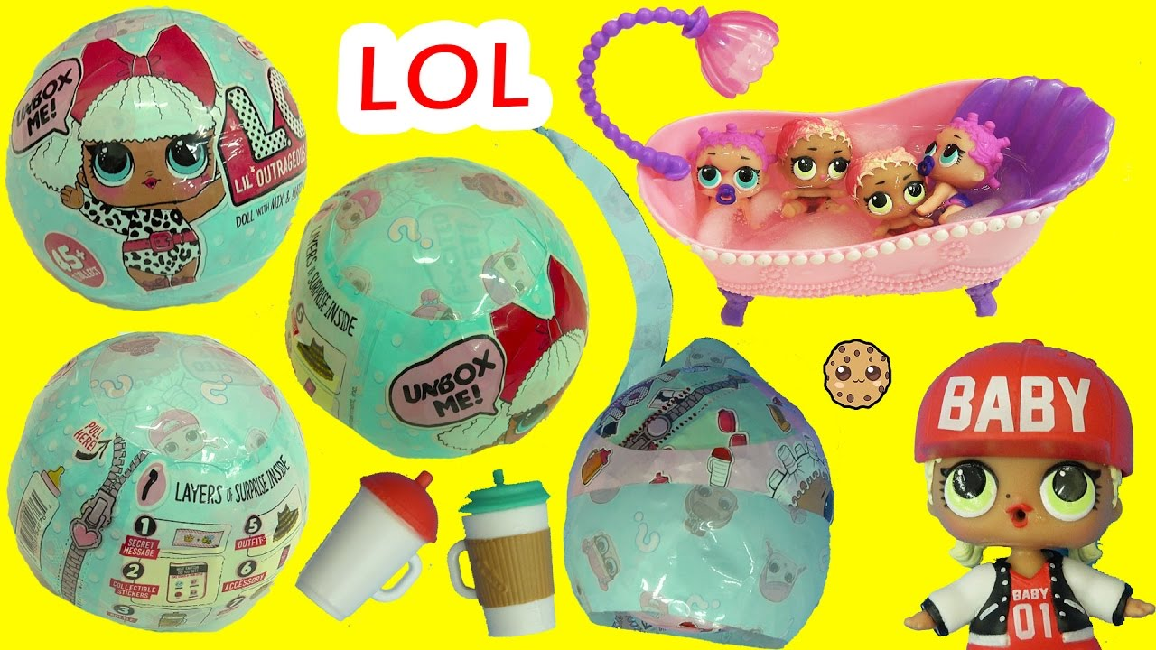 L.O.L Surprise DOLL PETS YELLOW 7 Layers Of Fun Ball 2017 LOL US EDITION L.O.L.