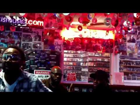 Naturally 7 Visits Nikki's Music Store Cleveland OH