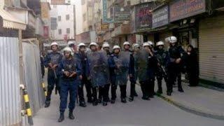 احتجاجات وإحراق مبنى بلدية في المنامة