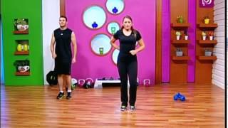 الرياضة - تمارين لتحريك جميع عضلات الجسم