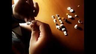 как сделать лего робота белого цвета