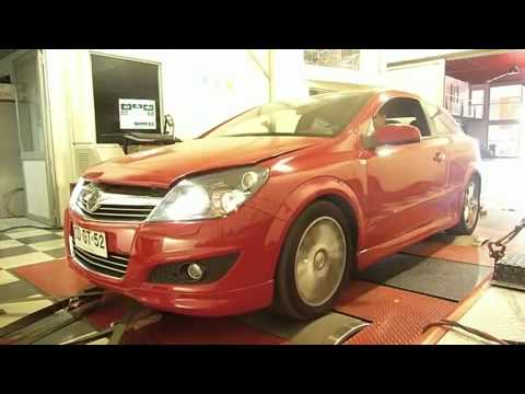 mcchip-dkr Opel Astra OPC(GTC) at JPM-Engineering in Chile on Dyno