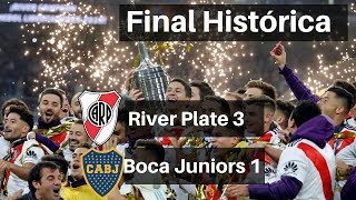 Final Libertadores River Plate 3 x 1 Boca Juniors Melhores Momentos COMPLETO 09/12/2018