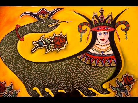 ŞAHMERAN - Yılan Kadın Efsanesi (Beyoğlu esnafından)