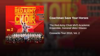 Coachman Save Your Horses