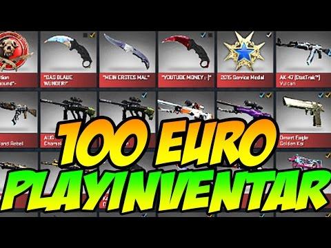 100 EURO Playinventar mit KNIFE? - So funktioniert es!