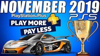 PS5 News - PS PLUS Games Update - 7 FREE Games - PS4 GAMES November 2019 - PSN Sale & Free Bonuses