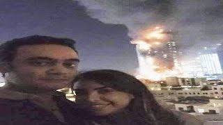 Burj Khalifa Burning Selfie Puts Couple in Trouble