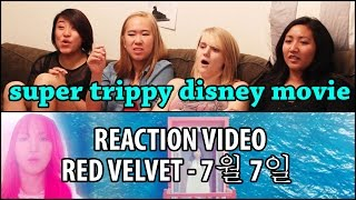 Yi Family Reacts   Red Velvet One Of These Nights (레드벨벳 7월 7일) MV