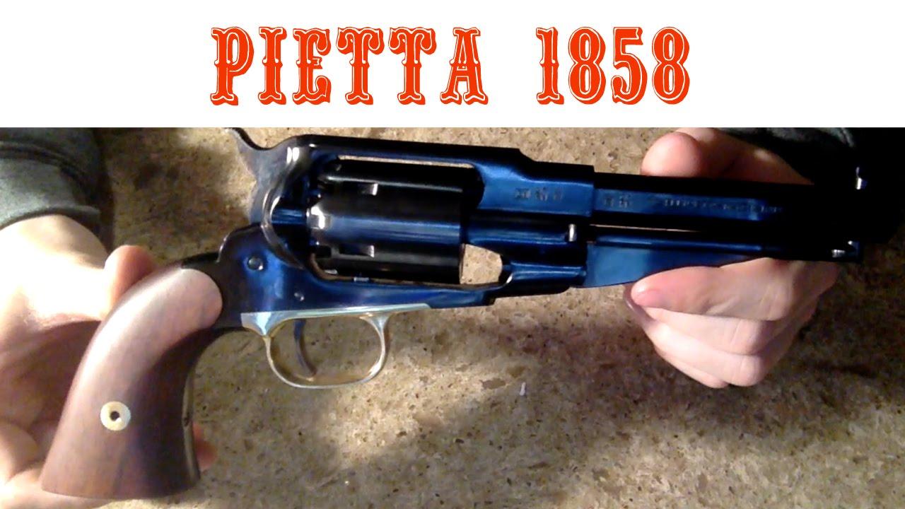 Pietta Remington 1858 Black Powder Unboxing Impressions