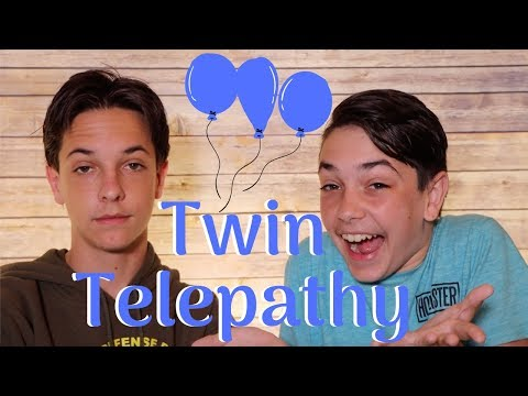 Does Twin Telepathy Exist?... (Birthday Special with Greiner!)